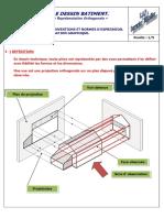 LE DESSIN BATIMENT. «Représentation Orthogonale» - PDF