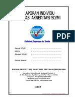 Format Lap Manual Visitasi Individu SD-MI 2019
