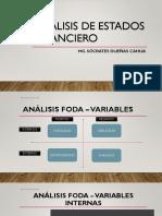 Analisis de Estados Financieros Empresa Boticas Arcagel