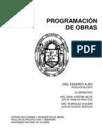 01. Programación de Obras - Introduccion Conceptual