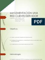 Implementacion Una Red Cliente