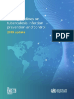 WHO guidelines on tuberculosis infection , prevention and control - 2019 update.pdf