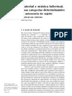 Olive - Material e Musica em Adorno