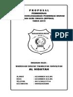 Contoh proposal BPPDGS MDTA AL HIDAYAH 2019 - Copy.docx