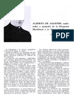 Albetrto de Agostini, Explorador y geógrafo de la Patagonia