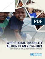 Global Disability Action Plan