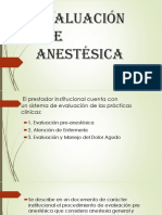 1.3Evaluación Pre Anestésica