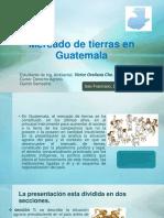 MERCADO DE TIERRAS EN GUATEMALA