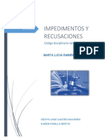 TRABAJO IMPEDIMETOS Y RECUSACIONES.docx