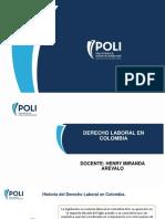 1. Diapositiva 2019 - Generalidades Del Derecho Laboral en Colombia (1)