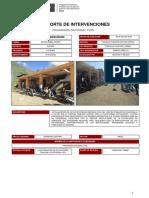 Descripción Actualización de La Plataforma de Defensa Civil Del Centro Poblado de Chacralla