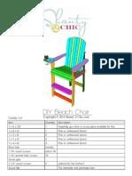 Diy Beach Chair Draft 2