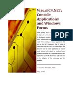 Visual C# .Net - Windows form application
