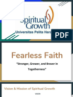 Proposal fearless faith