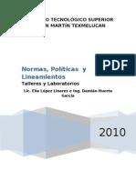 POLÍTICAS DE LOS SERVICIOS DE MANTENIMIENTO PREVENTIVO Y CORRECTIVO DE EQUIPO DE CÓMPUTO