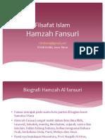 FIlsafat Islam Hamzah Fansuri.pptx