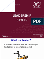 People in the Org. - Leadership Styles2.ppt
