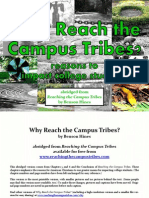 Why Reach the Campus Tribes by Benson Hines