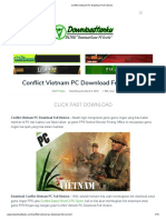 Conflict Vietnam PC Download Full Version
