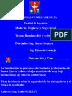 Iluminación y Color (Higiene y Seguridad 2016)