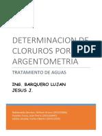 Laboratorio Determinacion de Cloruros