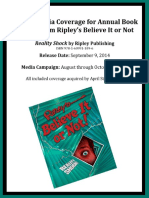 Ripley's Believe It or Not Media Sample