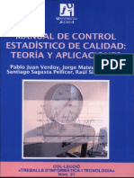 Manual de Control Estadistico de Calidad