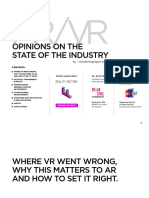 AR VR State of Industry Grayson