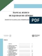 Manual de equidad de genero