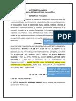 Ejemplo Franquicia