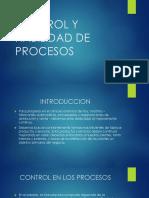 Control y Habilidad de Procesos