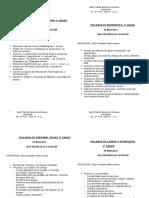 Syllabus  2 Primaria.docx