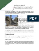 LA LITERATURA QUECHUA.docx