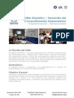 InfoInstitucional-TallerEmpretec-NacionesUnidas