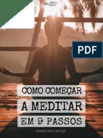 Como Começar a Meditar Em 9 Passos