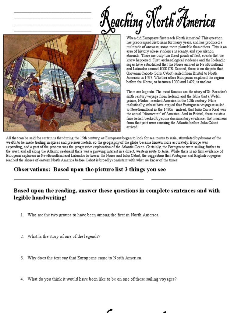 worksheet Age Of Exploration Worksheet age of exploration worksheets pdns scientific revolution conquistador