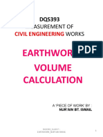 Dqs393_class F_earthwork Volume Calculation