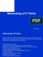Networking of IT Parks