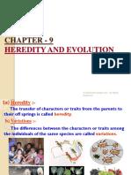 9.Heredidity and Evolution