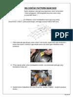 Adjusting Contac Pattern Gear Box