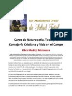 Curso de Naturopatía y Teología 5