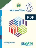 Guia Metodologica - Sexto grado.pdf