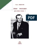 Amargier, Paul - Jean Paulhan, qui etes-vous.pdf