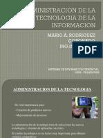 Administracion de Las TICS