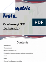 Parametric Test r