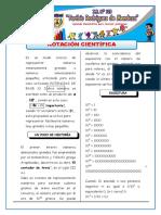 3. Notación Científica y Aplicaciones