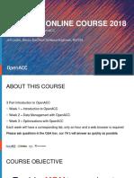 OpenACC Course 2018 Week 1