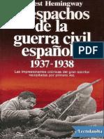 Despachos de la guerra civil española