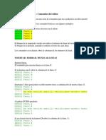comandos ISPF
