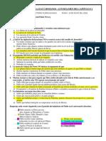 Autoexamen Romanos y Galatas Cap. 1,2,3